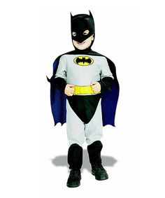 Take a look at this Gray Classic Batman Dress-Up Outfit - Infant & Toddler by Rubie's on #zulily today!