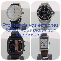 De nombreuses montres à vendre sur lacparis.com Watches on sale #rolexsubmariner #iwcportugese #jlcreverso #tagheuermonaco #auctioneerlacparis.com