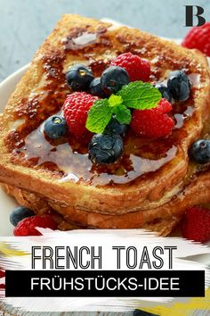 French toast: recipe for the breakfast trend. French toast is – contrary to what the name suggests – a breakfast classic in the United States, but is also becoming increasingly popular with us. We explain how you can make French toast yourself. Churro French Toast, French Toast Bites, Creme Brulee French Toast, Bananas Foster French Toast, French Toast Muffins, Eggnog French Toast, French Toast Rolls, Nutella French Toast, Banana French Toast