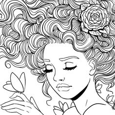 coloriage, Adult Coloring Page