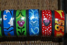 Has anyone decorated their Magic Bands? Please show us the pictures! - Page 186 - The DIS Discussion Forums - DISboards.com