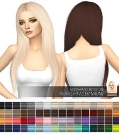 Hairstyles Archives • Page 12 of 291 • Sims 4 Downloads