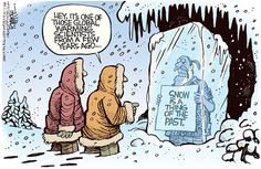 Rick McKee - The Augusta Chronicle - No More Snow, global warming, climate change