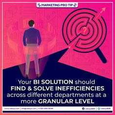 In the same way that you don't know what you don't know, department heads may be able to fill in the blanks. Gathering this information and analyzing its value can help you realize opportunities to maximize the results of your BI implementation. Intelligence Service, Business Intelligence, Fill, Marketing