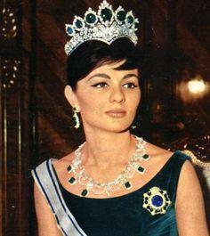 Farah Diba Last Empress Of Iran
