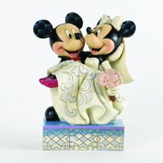 Congratulations-Mickey And Minnie Wedding Figurine