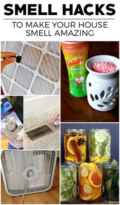 Some great hacks to keep everything smelling nice and clean!!