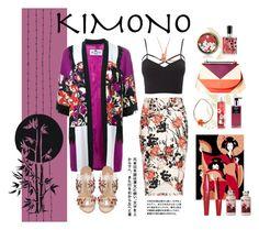 """Kimono Cool."" by wafa-lachaal on Polyvore featuring mode, Etro, Charlotte Russe, DESA, Paul Andrew, NOVICA, Nest Fragrances, Imju Fiberwig, Origami Jewellery et contest"