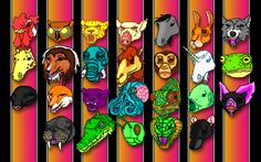 Hotline Miami All Masks