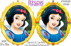 Molde Pendente Princesas - Branca de Neve