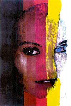 Metis  #art Portrait Art, Portraits, Heart Art, Beautiful Artwork, Cool Eyes, Painting Inspiration, Female Art, Digital Illustration, New Art