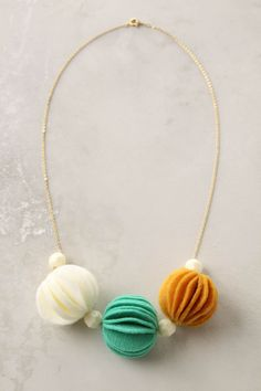 I know its unconventional but I'm a sucker for anthropologie necklaces.