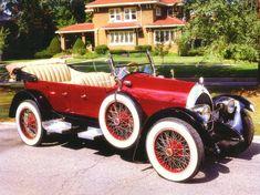 1920 Revere 5-Passenger Touring Car Red