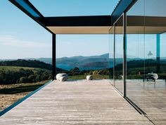 No architecture can make a landscape as soul-stirringly beautiful as the coastline of the Tasman Peninsula more powerful, but the right building can distil and heighten the experience of inhabiting such a place. Setting out to capture the elemental qualities of this experience. #buildingdesign #kitchenideas #homemakeover #diy #architecture #moderndesignideas #diyideas #amazinghouses #housegoals All Design, Floor Design, Modern Design, Pavilion, The Locals, Interior Architecture, Cool Designs, Timber Flooring, Projects