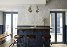 """26 Grains: A London Restaurant with """"Hygge"""" #architecture"""