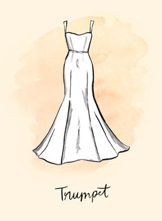 Las 21 Mejores Imágenes De Dibujos De Vestidos De Novia