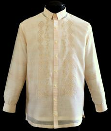 Jusilyn Barong Tagalog - Barongs R us Barong Tagalog, Filipiniana Dress, Philippines Fashion, Big Sizes, Line Shopping, Formal Looks, Pinoy, Chef Jackets, Language