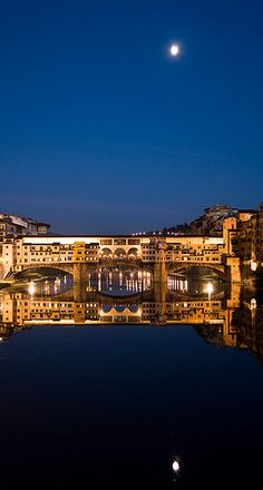 Ponte Vecchio over The Arno River ~ Florence, Italy