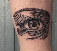 eye tattoo minimal