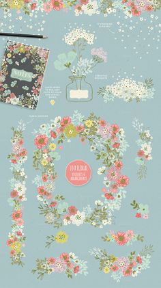 40% off! The Fresh Spring Collection by Lisa Glanz on @creativemarket