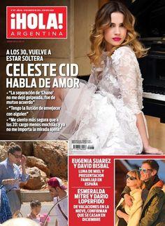 Celeste Cid, Hola! Magazine [Argentina] (19 August 2014)