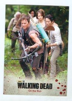 The Walking Dead trading card 2014 #2 Season 3 Daryl Dixon Norman Redus @ niftywarehouse.com #NiftyWarehouse #WalkingDead #Zombie #Zombies #TV