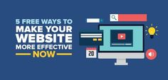 Guest post from SumoMe's Sarah Peterson on the 5 Free Ways to Make Your Website More Effective NOW http://www.smartpassiveincome.com/make-your-website-more-effective-now/