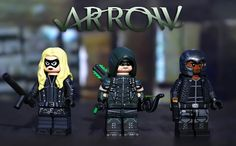 LEGO CW : Green Arrow, Black Canary, & Diggle | by MGF Customs/Reviews