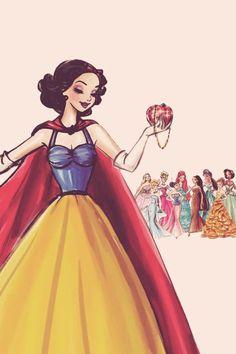 I ostatnia z księżniczek-Śnieżka #Disney #Snow White