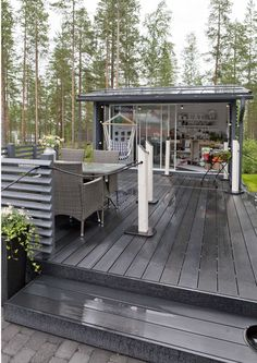 Outdoor Spaces, Outdoor Living, Outdoor Decor, Outdoor Play, Scandinavian Garden, Summer Cabins, Hawaii Homes, Cottage Plan, Hobby House
