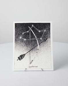 The Wild Unknown Sagittarius Print | Covet + Lou