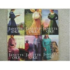 **Canadian West Series #1-6 (When Calls the Heart, When Comes the Spring, When Breaks the Dawn, When Hope Springs New, Beyond the Gathering Storm, When Tomorrow Comes) by Janette Oke    my favorite of her books!