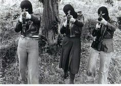 """congenitaldisease: """"Female members of the IRA during The Troubles in Belfast, Northern Ireland. The Troubles was a period of conflict in Northern Ireland involving republican and loyalist. Northern Ireland Troubles, Belfast Northern Ireland, Irish Republican Army, New Wave Music, The Ira, Erin Go Bragh, Army Women, Step Kids, Irish Celtic"""