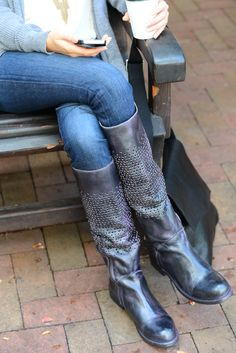 liege, stand tall on an all wood wedge. #bedstu | tall boots