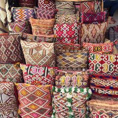Berber pillows, Marrackech