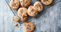 Hjemmelaget cookies med marsipan