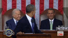 When your hater gotta give you props. - Obama getting thumbs up from Boehner