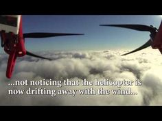DJI F550 Hexacopter crash after flight above the clouds - YouTube