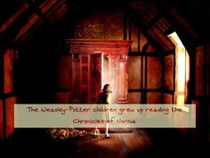 The Weasley-Potter children grew up reading the Chronicles of Narnia Requested by  auror-swan3