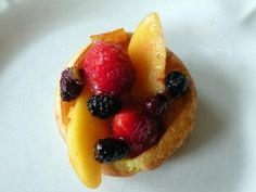 Puffed Oven Pancakes with Summer Glazed Fruit | OAMC from Once A Month Mom