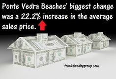 #PonteVedraBeach #RealEstate market update for Jully 2014. Ponte Vedra's biggest change was a 22.2% increase in the average sales price. Visit the link to found out more stats for this month.  http://www.frankelrealtygroup.com/blog/ponte-vedra-beach-july-2014-real-estate-market-report.html