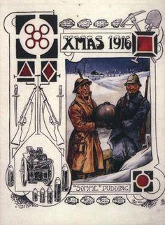 WWI, 1916 Christmas card