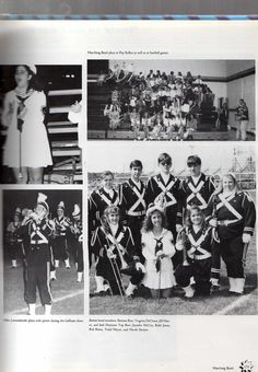 VHS Marching Band 1992-1993 Yearbook page 2