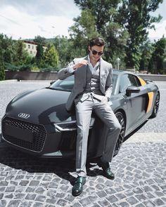 Beautiful Men Faces, Gorgeous Men, Car Poses, Car Gadgets, Men Formal, Bmw, Photo Poses, Stylish Men, Shades Of Grey