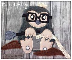 Applikationsvorlage Maulwurf von TiLu-Design auf DaWanda.com