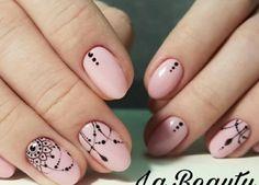 Arabesque, How To Put Eyeliner, Henna Nails, Black Henna, Nail Tutorials, French Nails, Nail Arts, Pretty Nails, Pretty In Pink