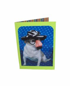 Chihuahua Greeting Card In Disguise Dog Card Humor by Lillyzcardz, $4.00