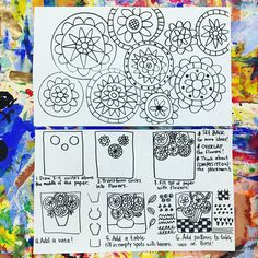 A do-it-yourself sheet for fourth grade fast finishers today. This worked well w… A do-it-yourself sheet for fourth grade fast finishers today. This worked well with out Rizzi Cities, let's see how it works with bingo… Art Sub Plans, Art Lesson Plans, Third Grade Art, Fourth Grade, Art Sub Lessons, Art Handouts, Art Worksheets, School Art Projects, Middle School Art