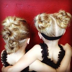 Messy Buns! I pull the pony almost all the way through so the ends don't show. #twinshair #cghmessybun1http://youtu.be/XWGMJKxfmu8