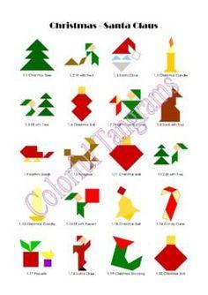 resultado de imagen de tangram figuras religiosas